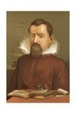 Johannes Kepler Giclee Print by Ricardo Marti