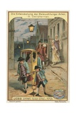 Street Lights Giclee Print by  European School