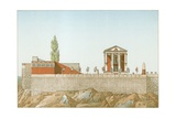 Temple of Cora, as Restored by Labrouste Giclee Print by Philippe Benoist