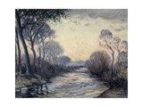 River Cagnes, c.1930 Giclee Print by Edouard Chappel