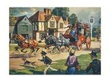 The Birmingham Flyer Giclee Print by Derek Charles Eyles