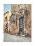 Sta. Madre Dei Miracoli, Syracuse Giclee Print by Alberto Pisa