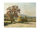Autumn, 1933 Giclee Print by William Gunning King