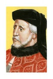 Geoffrey Chaucer Giclee Print by Angus Mcbride