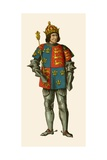 King Richard III of England Giclee Print by Albert Kretschmer