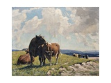 Downland, 1939 Giclee Print by William Gunning King