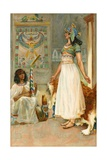 Cleopatra Giclee Print by Walter Stanley Paget