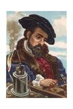 Georgius Agricola Giclee Print by Josep or Jose Planella Coromina