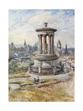 Edinburgh from Calton Hill Giclee Print by John Fulleylove