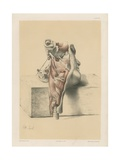The Head and Neck. External View of the Pharynx with its Muscles Giclee Print by G. H. Ford