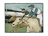 Old English Sports and Games: Racing, 1901 Giclee Print by Cecil Charles Windsor Aldin