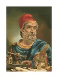 Archimedes Giclee Print by Josep or Jose Planella Coromina
