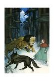 Dante's Divine Comedy Giclee Print by Angus Mcbride