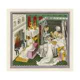 Birth of St Edmund, 1433 Giclee Print by Henry Shaw