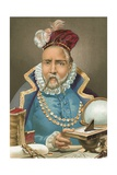 Tycho Brahe Giclee Print by Josep or Jose Planella Coromina