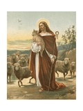 The Good Shepherd Giclee Print by John Lawson