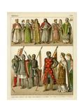 German Costume 1100 Giclee Print by Albert Kretschmer