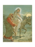The Flight into Egypt Giclee Print by John Lawson