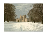 Glamis Castle Giclee Print by Alexander Francis Lydon