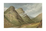 The Pass of Glencoe Giclee Print by  English School