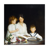 A Family Portrait, 1919 Giclee Print by Walter Bonner Gash