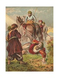 Conversion of Saul Giclee Print by  English School