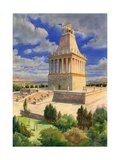 The Mausoleum at Halicarnassus Giclee Print by  English School