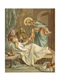 Jesus Raising Jairus's Daughter Giclee Print by John Lawson