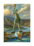 The Colossus of Rhodes Giclee Print by  English School