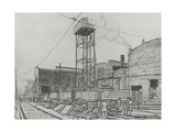 Westwood Works, Peterborough, in Production During the First World War, 1918 Giclee Print by Rudolph Ihlee