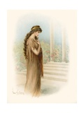 Tennyson's The Beggar Maid Giclee Print by  Warry