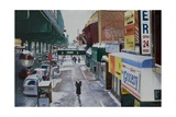 Under the El, 86th Street, Brooklyn, 2010 Giclee Print by Anthony Butera