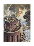 The Tower of Babel Giclee Print by James Edwin Mcconnell