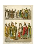 Italian Costume 1200 Giclee Print by Albert Kretschmer