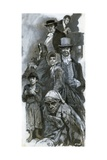 Creations of Charles Dickens' Imagination Giclee Print by Neville Dear