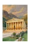 Temple of Diana Giclee Print by  English School
