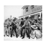 The Defence of the Eureka Stockade Giclee Print by Angus Mcbride