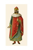 Doge of Venice Giclee Print by Albert Kretschmer