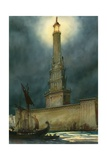 The Pharos of Alexandria Giclee Print by  English School