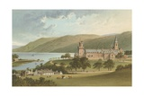 The Monastery, Fort Augustus Giclee Print by  English School