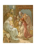 Nativity Giclee Print by John Lawson
