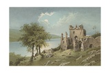 Urquhart Castle - Loch Ness Giclee Print by  English School