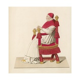 Pope Sixtus IV, Between 1471 and 1484 Giclee Print by Henry Shaw