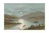 Upper End - Loch Lomond Giclee Print by  English School