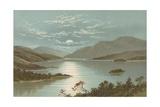 Upper End - Loch Lomond Giclee Print by  English School