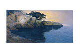 The Coast Off Dubrovnik, 1905 Giclee Print by Paul von Spaun