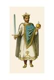 Emperor Henry II Giclee Print by Albert Kretschmer