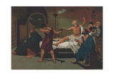 Death of Socrates Giclee Print by Josep or Jose Planella Coromina