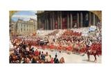 St. Paul's Cathedral: Queen Victoria's Diamond Jubilee, June 22Nd, 1897 Giclee Print by Andrew Carrick Gow