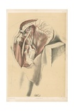 The Lower Limb. Third Stage in the Dissection of the Buttock Giclee Print by G. H. Ford